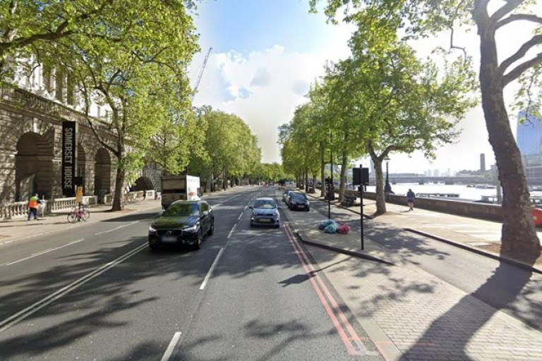 Victoria Embankment (via StreetView)