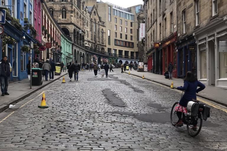 Victoria St (via City of Edinburgh Counccil on Twitter)