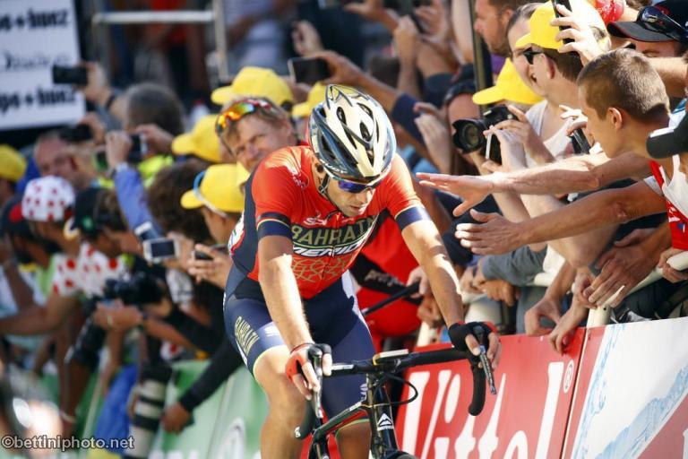 Vincenzo Nibali (Team Bahrain-Merida @BettiniPhoto)