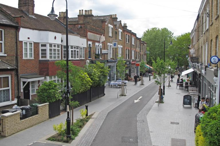Walthamstow Village Mini Holland (source Enjoy Waltham Forest)