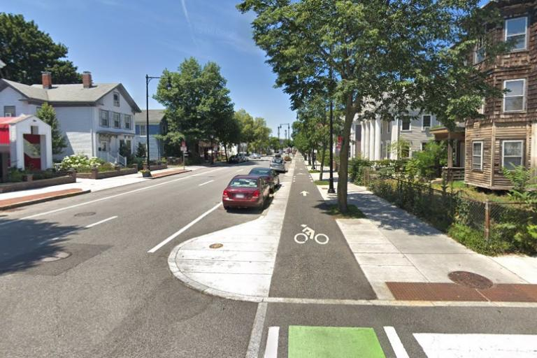 Wester Avenue, Cambridge, Massachusetts (via StreetView)
