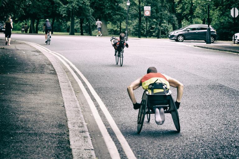 Wheelchair user Regent'sPark.jpg