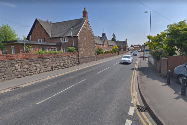 Whitecross Road, Hereford (via StreetView)