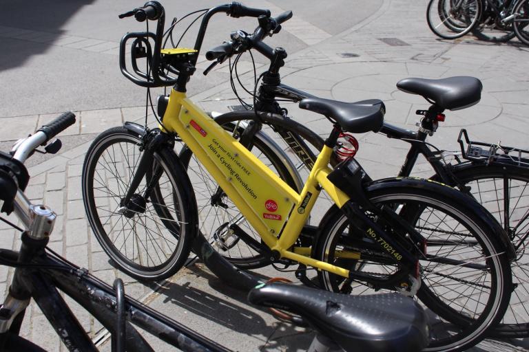 YoBike in Bath city centre.jpg