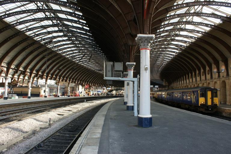 York railway station (CC licensed by Hugh Llewelyn via Flickr)
