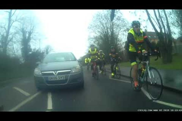 8c8f34cd8 Near Miss of the Day 263  Driver veers in on one club run