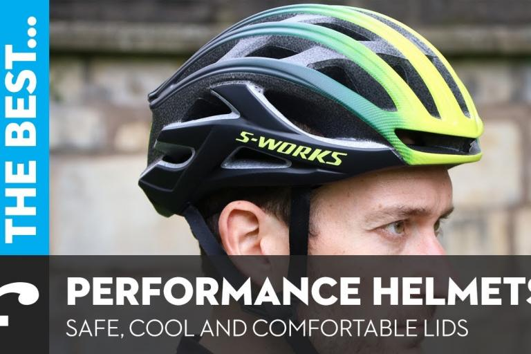 7ce62066a3 Video  Six of the best performance helmets - light
