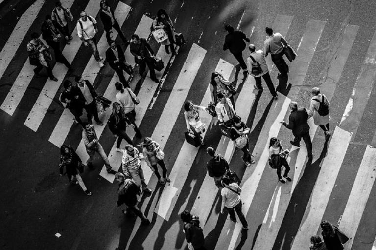 Zebra crossing - Licensed CC By 22.o on Flickr by Tiomax1980