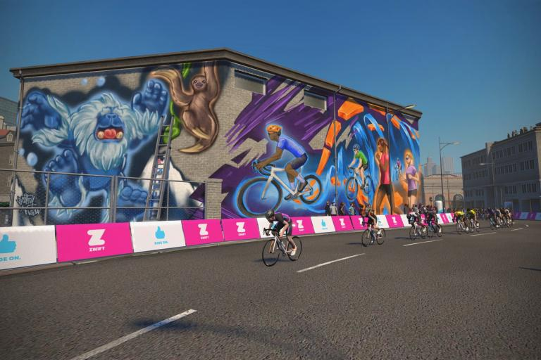 Zwift Crit City - 2