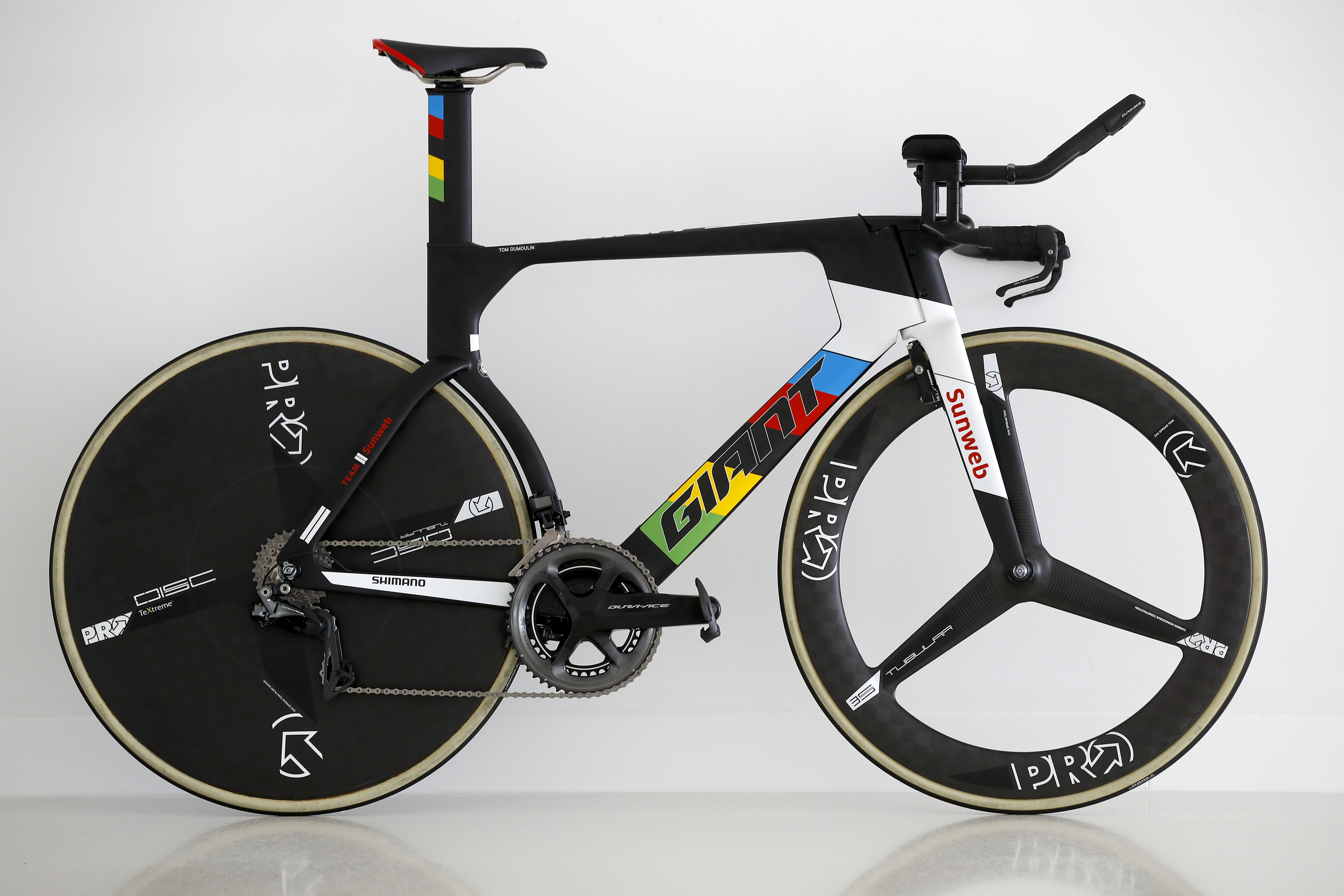 Pro Bike Tom Dumoulin S World Champs Giant Trinity Time Trial Bike Road Cc