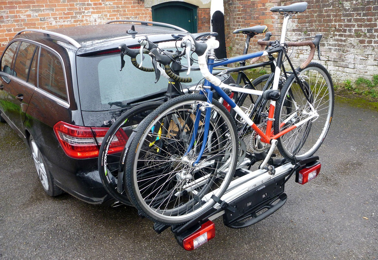 1x bike Roof Rack bike hold Steel EU Wheels N Bits Bike Carriers Tow bar Hitch Roof Rack boot Lid Trunk