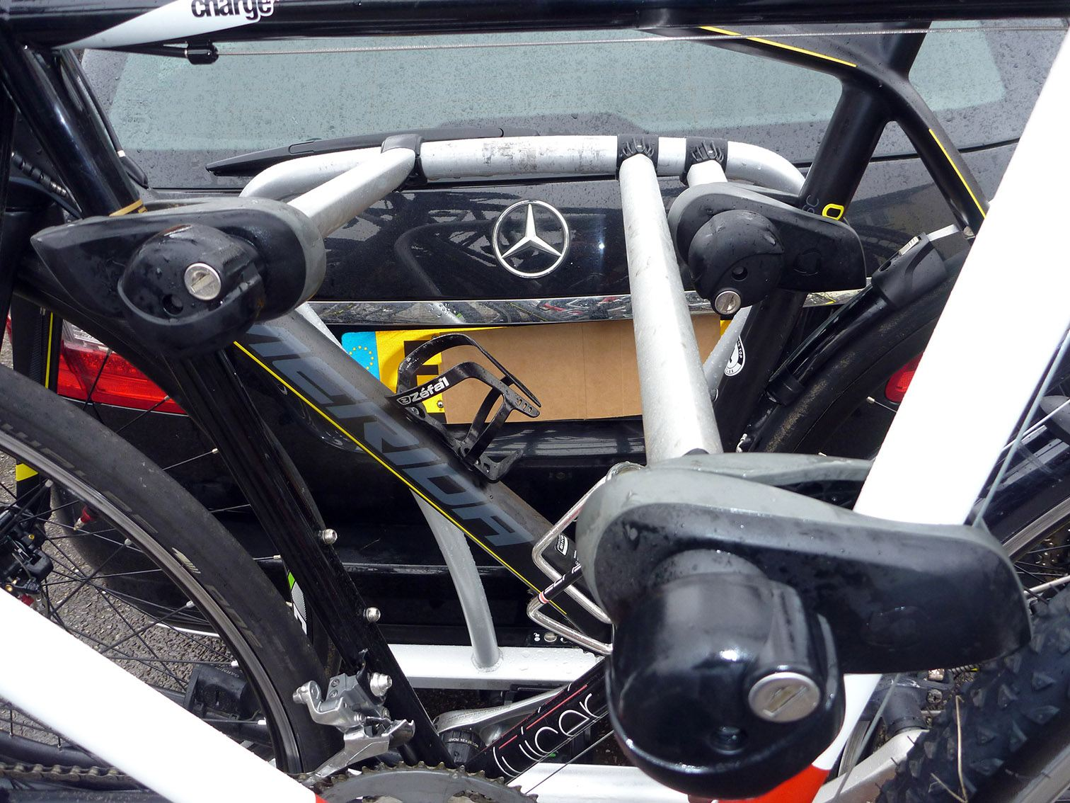 Review: Whispbar WBT31 3 bike tow bar carrier | road cc