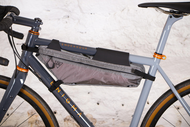 WOHO Xtouring Bikepacking Full Frame Bag Dry M Iron Grey