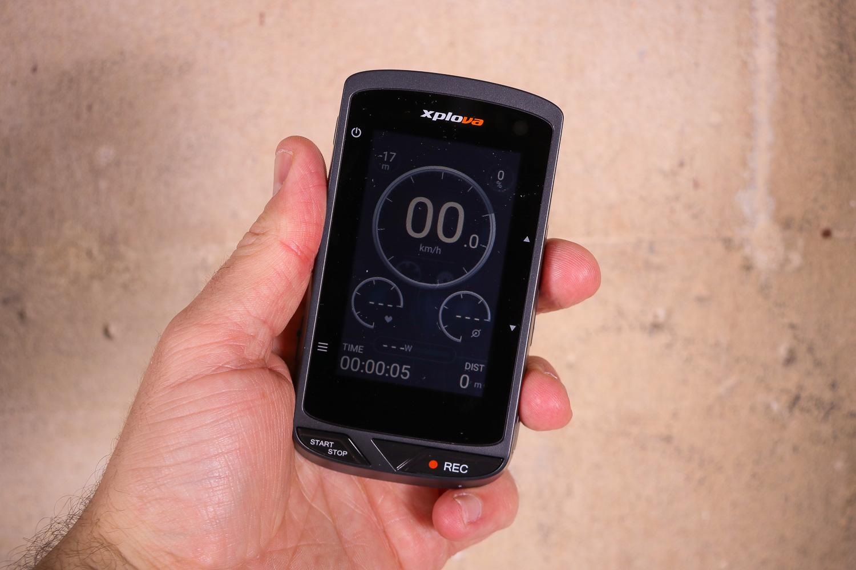 Review: Xplova X5 Evo GPS Cycling Computer | road cc